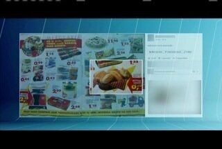 Consumidores ficam surpresos ao verem folheto de supermercado de 16 anos atrás - Em 2000 o pão francês era vendido a R$ 0,05.