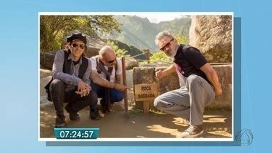 Trio de MS regrava em Machu Picchu música escrita há 40 anos - Música Trem do Pantanal foi gravada primeiramente por Paulo Simões e Geraldo Roca em uma viagem de trem ao Peru.