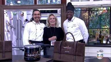 André Gonçalves vai para a final do Super Chef Celebridades - Mumuzinho é o último eliminado no reality culinário
