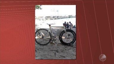 Paratleta de juazeiro tem bicicleta de R$ 30 mil roubada no norte do estado - O ciclista tenta encontrar o equipamento que foi feito sob medida.