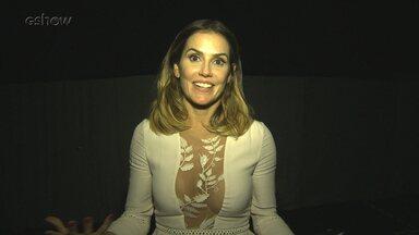 Deborah Secco e Mariana Santos comentam surpresas do 'Tamanho Família' - Atrizes não seguraram a emoção com os shows do programa