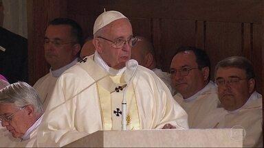 Papa celebra missa em homenagem a João Paulo II na Polônia - O Papa Francisco está na Polônia para participar da Jornada Mundial da Juventude.
