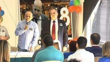 Rede oficializa candidatura de Djalma Araújo à Prefeitura de Goiânia - Nome do vice não foi definido durante convenção da sigla, neste domingo.