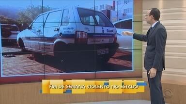 Renato Igor comenta sobre o fim de semana violento em todo estado - Renato Igor comenta sobre o fim de semana violento em todo estado