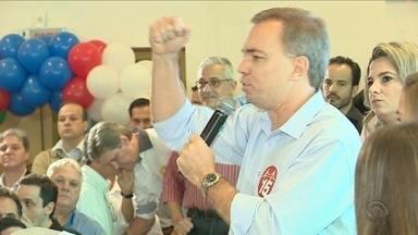 Gean Loureiro é o candidato do PMDB para prefeitura da capital - Gean Loureiro é o candidato do PMDB para prefeitura da capital