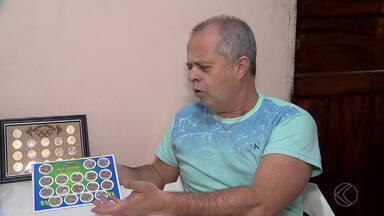 Colecionadores investem em moedas temáticas da Rio 2016 - Comerciantes vendem moedas temáticas de R$ 1 real com valor até 20 vezes maior