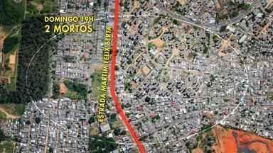 Moradores do bairro Rubem Berta em Porto Alegre estão assustados com a violência - Num período de 26 horas, oito mortes foram registradas no bairro.