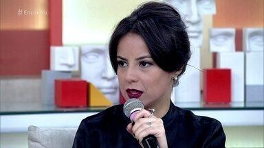 Andréia Horta comenta final de 'Liberdade, Liberdade' - Atriz diz que, ao interpretar Joaquina, se descobriu muito mais mulherzinha do que imaginava
