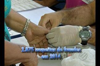 No Pará, 22 municípios utilização a identificação biométrica nas eleições municipais - Em 2014 houve quase três mil suspeitas de fraude envolvendo justificativa de votos no Pará.