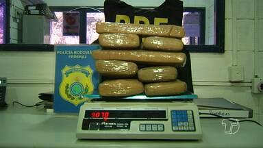 Em Santarém, PRF apreende 40 quilos de drogas em um mês - Resultados são considerados positivos pelo órgão. A maioria das drogas tem origem em outros estados e chegam no município em ônibus.