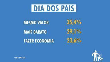 População de Fortaleza pretende gastar menos no Dia do Pais - Presentes devem ficar em torno de R$ 80.
