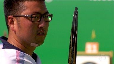 Sul-coreano faz o maior número de pontos da história do tiro com arco - Nesta sexta-feira (5), começou a competição de tiro com arco no Rio de Janeiro. A competição acontece no Sambódromo.