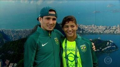 Atletas do judô são esperança de medalhas para o Brasil - Sarah Menezes e Felipe Kitadai são cabeças de chave, Sarah foi a primeira mulher a conquistar uma medalha de ouro para o Brasil nos Jogos Olímpicos de Londres, em 2012.