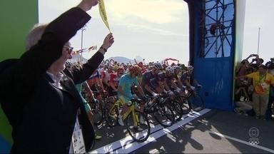 Dois brasileiros disputam medalha de ouro no Ciclismo - Cleber da Silva e Murilo Fisher são os únicos brasileiros que competem no Ciclismo.