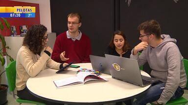 PUCRS inaugura espaço para alunos desenvolverem projetos e soluções - No Idear, estudantes desenvolvem atitudes empreendedoras e inovadoras.