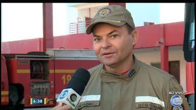 Major explica problemas ocorridos em atendimento do Corpo de Bombeiros - Major explica problemas ocorridos em atendimento do Corpo de Bombeiros