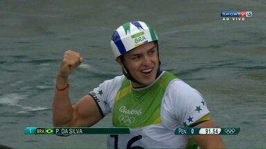 Atleta que treina em Foz disputa final da canoagem na olimpíada - Pepê disputou a prova no caiaque individual