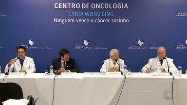 Centro para tratamento de câncer é inaugurado em Porto Alegre - O Centro conta com três pavimentos no Hospital Moinhos de Vento e vai operar no diagnóstico e tratamento da doença.