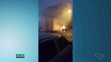 Após uma semana da explosão do carro em Maruípe, moradores reclamam de prejuízo em casas - A perícia feita pelos bombeiros deve ficar pronta em um mês.