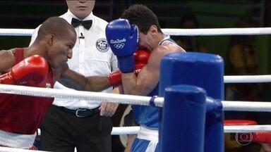 Róbson Conceição conquista a primeira medalha de ouro do boxe em Olimpíadas - O baiano Róbson Conceição fez história e conquistou a primeira medalha de ouro do boxe para o Brasil em Olimpíadas.
