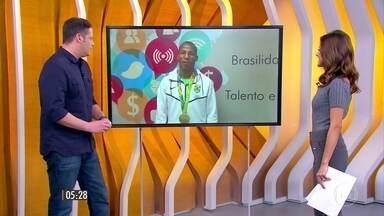 Boxeador Robson da Conceição dedica medalha de ouro também para o H1 - Medalhista gravou um vídeo e mandou um recado para o jornal.