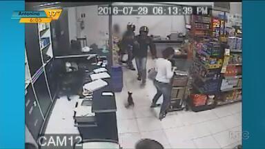 Número de roubos aumenta 200% em relação ao ano passado em Nova Londrina - A violência tem assustado comerciantes do noroeste do estado.