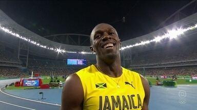 Usain Bolt tenta o tricampeonato olímpico na final dos 200m rasos - Usain Bolt tenta o tricampeonato olímpico na final dos 200m rasos