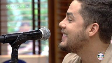 Jammil canta 'Celebrar' - Banda abre o programa deste sábado
