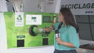 Rede Amazônica inicia projeto de reciclagem, em Porto Velho - A criação do engenheiro de computação Marcelo...