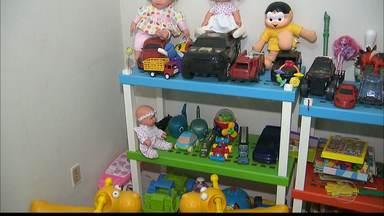 Brinquedoteca dentro do DML em João Pessoa é o primeiro do Brasil e faz diferença - Ideia partiu de médica perita.