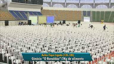 Aulão para o Enem acontece neste sábado no Ginásio O Ronaldão - Para ter acesso ao evento é preciso doar 2Kg de alimento.