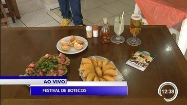 Para quem gosta de comida de boteco, tem festival em Taubaté. - Veja mais informações com o repórter Bruno Pellegrine.