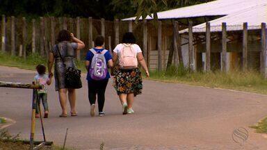 Família é assaltada durante passeio no Parque da Cidade - Família é assaltada durante passeio no Parque da Cidade.