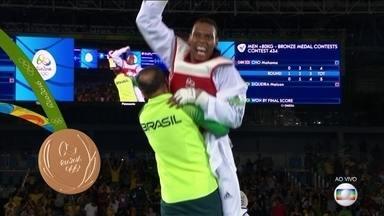 Brasil é bronze no Taekwondo - Maicon Siqueira conquistou a medalha de bronze no Taekwondo na noite deste sábado (20).
