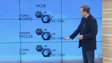 Temperatura pode chegar aos 27ºC nesta quinta-feira (25) em Santa Catarina - Temperatura pode chegar aos 27ºC nesta quinta-feira (25) em Santa Catarina