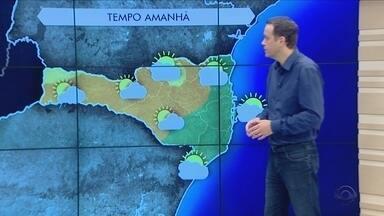 Terça-feira (30) tem muitas nuvens e instabilidade em Santa Catarina - Terça-feira (30) tem muitas nuvens e instabilidade em Santa Catarina