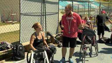 Na UFJF, delegação do Canadá se prepara para Paralimpíada - Equipe chegou em Juiz de Fora no fim de semana. São 31 integrantes.