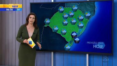 Tempo: quarta-feira (31) é marcada pela instabilidade no RS - A Região que deve ter mais chuva é o Sul.