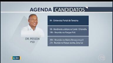 Confira a agenda dos candidatos a prefeito para esta quarta-feira (31) - Confira a agenda dos candidatos a prefeito para esta quarta-feira (31)