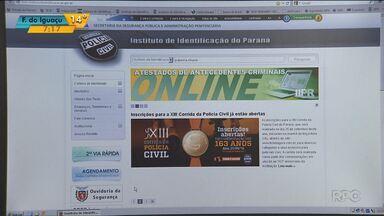 Saiba como pedir a segunda via da identidade pela internet - O cadastro é feito pelo computador e depois de todo o processo precisa retirar o documento pessoalmente no Instituto de Identificação.