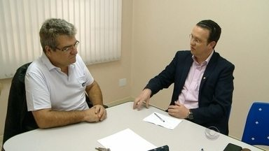 Confira como foi a manhã do candidato do PSB à Prefeitura de Santa Cruz - Fabiano Dupont visitou a Associação Comercial e Industrial de Santa Cruz