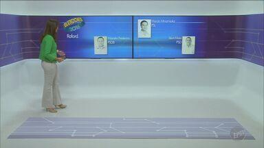 Conheça os candidatos às Prefeituras de Rafard, Holambra e Santo Antônio do Jardim - Serão três candidatos concorrendo em Rafard e Santo Antônio do Jardim. Dois candidatos disputam a prefeitura de Holambra.