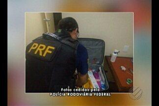 Em Marabá, PRF apreende material para fabricação de dinheiro falso - Material foi abandonado por hóspede em hotel que sedia encontro da PRF. Suspeito fugiu do local e caso é investigado pela Polícia Federal de Marabá.