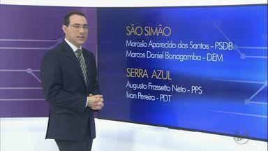 Conheça os candidatos a prefeito em Serrana, São Simão e Serra Azul, SP - Prazo para oficialização terminou no dia 15 de agosto.