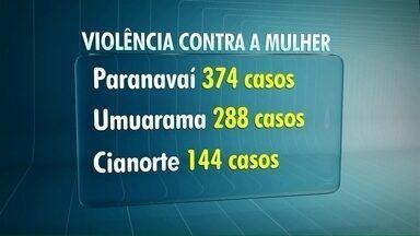 Lei Maria da Penha completa 10 anos. - Veja os casos de agressões mais comuns contra as mulheres.