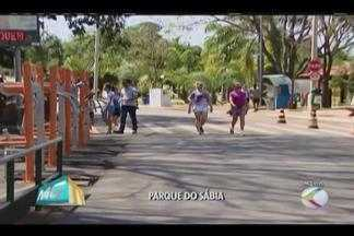Moradores lotam Parque do Sabiá no aniversário de Uberlândia - Confira a programação e o que funciona nesta quarta-feira (31).