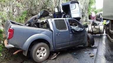Acidente mata duas pessoas na BR 277 - Casal de Laranjeiras do sul morreu na hora