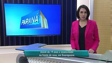 Jovem de 19 anos é assassinado na frente de casa, em Guarapuava - O crime foi ontem à noite no bairro Primavera