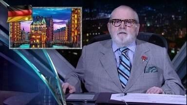"""Jô abre programa de quinta-feira comentando as notícias da """"boato press"""" - Alexandre Nero e Divaldo Franco são os convidados da noite"""
