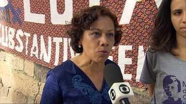 Candidata Maria da Consolação (PSOL) visita casa de defesa dos direitos das mulheres em BH - A candidata disse que tem que garantir que as mulheres sejam bem atendidas na capital mineira.